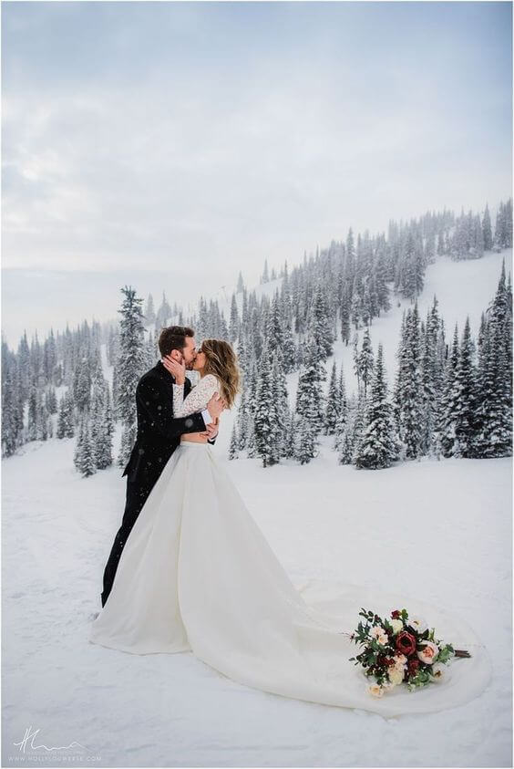 Wedding in Winter 14