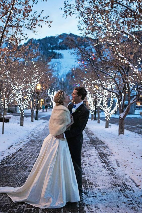 Wedding in Winter 1