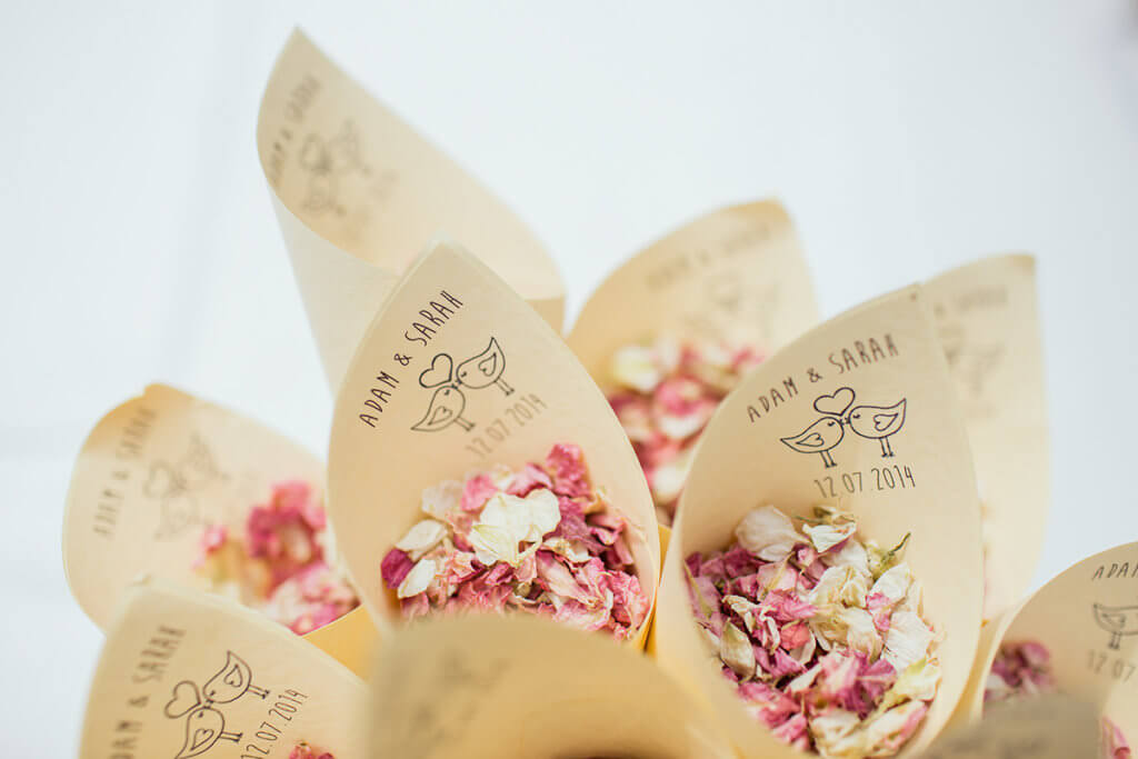 El leitmotiv, la idea sobre la que gira la boda 3